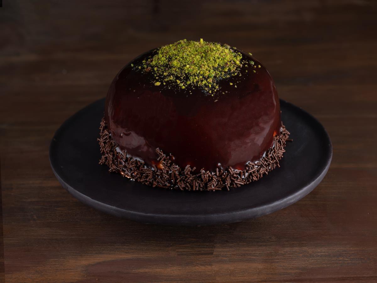 Çikolatalı Frambuazlı Küre
