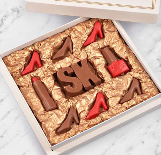 Kişiye Özel Süslü Çikolatalar