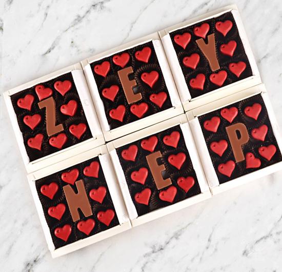 İsme Özel Aşk Çikolatası