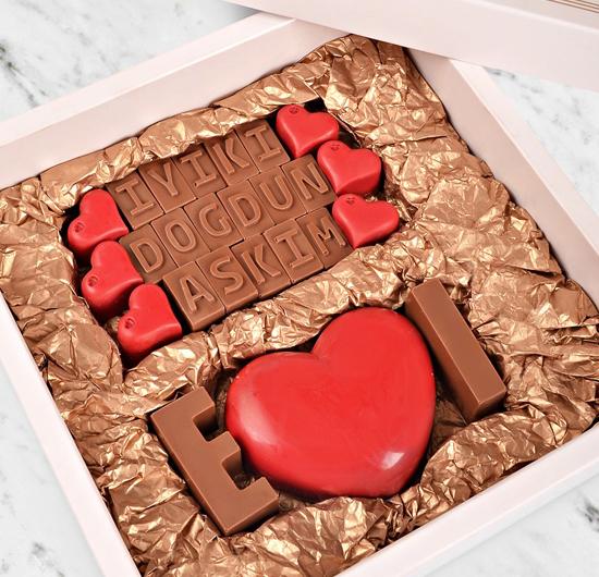 İyi ki Doğdun Aşkım Çikolatası