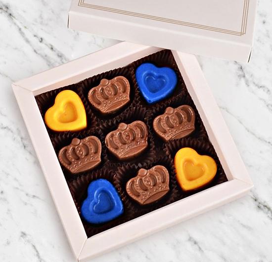 Sarı-Lacivert Aşkı Çikolatası