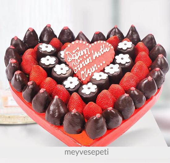 Seven Kalp Doğum Günü Meyvesi