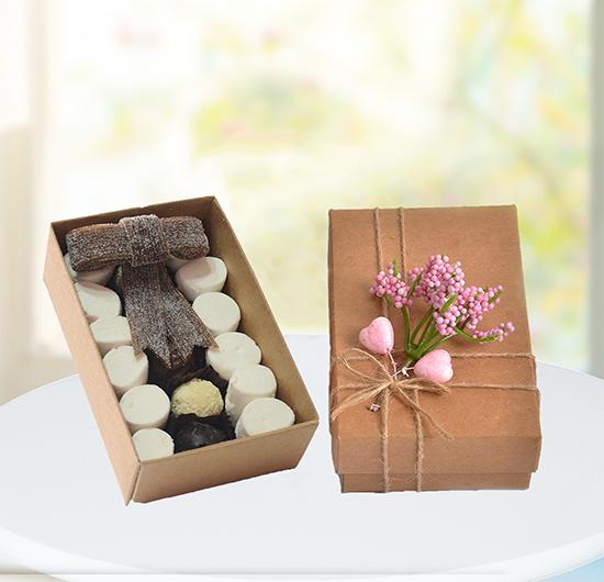 Hediyelik Çikolatalı Şekerleme Spesiyal Kutu