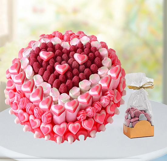 Aşkın Jelibon Hali Ve Çikolata Paketi