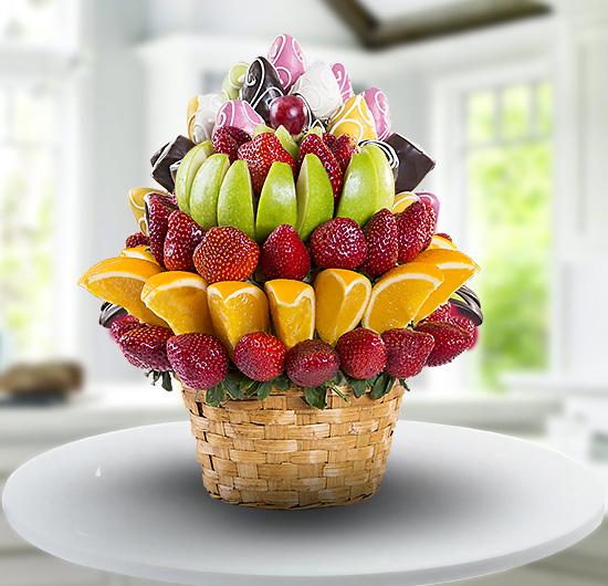 Yaz Gülü Meyve Sepeti